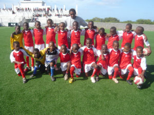 U10 of the Football School Tarrafal