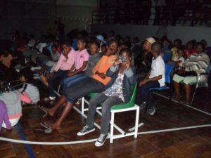 Das Publikum in Assomada