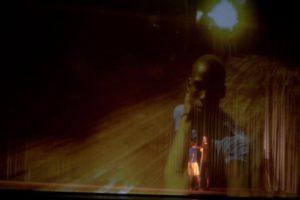 Mevlana und Ghost auf der Bühne in Praia