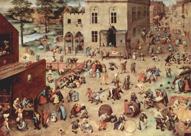Pieter Bruegel: Die Kinderspiele